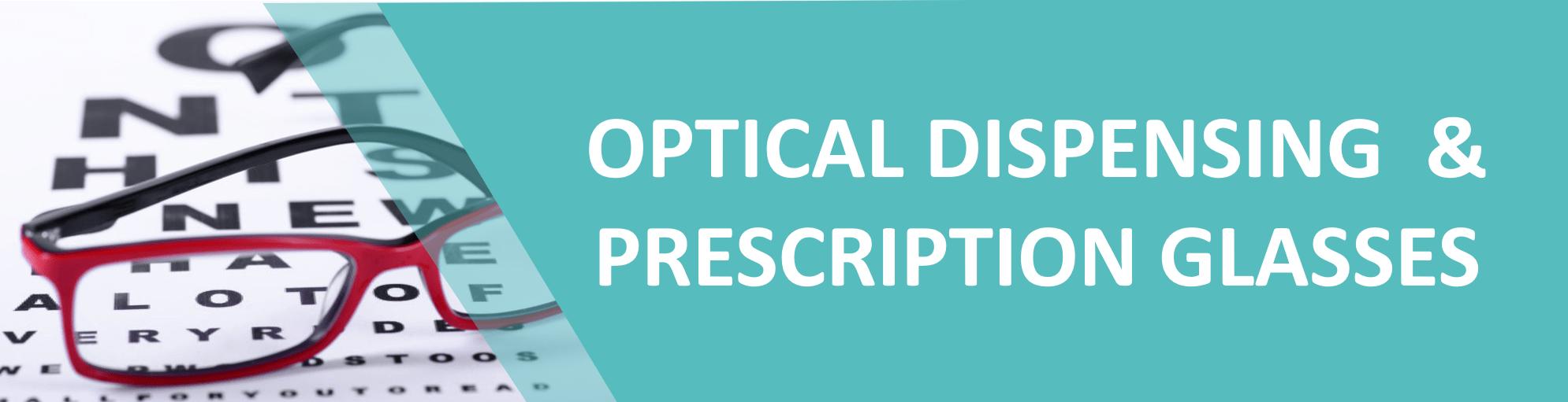 Prescription Glasses - Spectacles - Optical Dispensing - Norwest